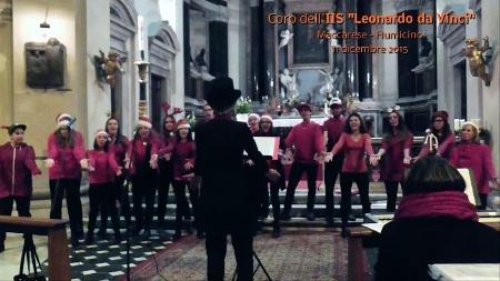 Il coro dell'IIS Leonardo da Vinci