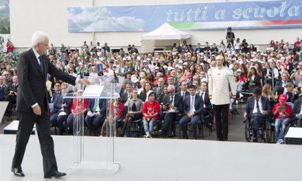 """""""La scuola è la radice del futuro"""", parola di Presidente"""