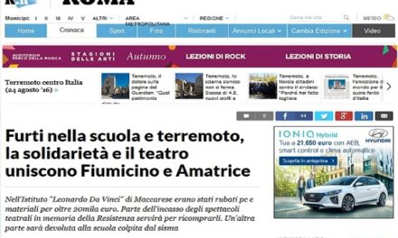 Repubblica.it parla di noi