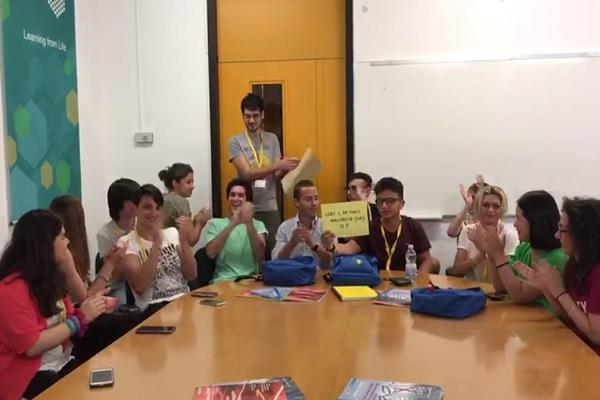 La 4° F scientifico vince il concorso Be scientist! Y2