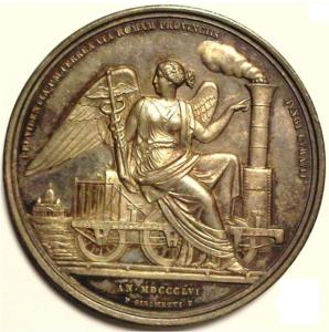 medaglia celebrativa di Pio IX
