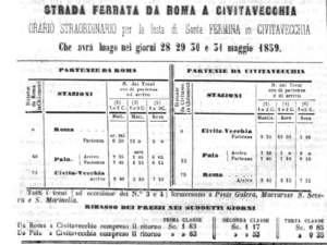 orario ferroviario 1859