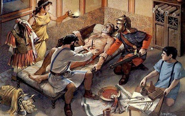 Chirurgi, ocularii, auricularii: la medicina nell'antica Roma