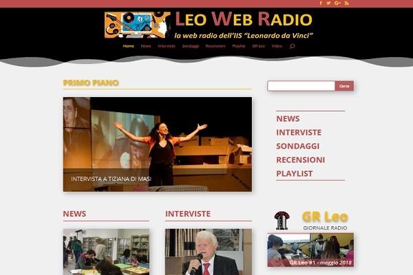 Leo Web Radio, il nuovo sito è on-line