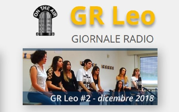 GR Leo #2, il Giornale Radio del Leonardo da Vinci