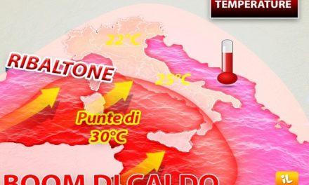 Ottobre 2019 da record, il più caldo di sempre