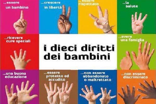 Diritti dell'Infanzia e dell'Adolescenza, un incontro a scuola