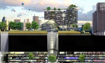 Sustainable Urbanization: a City Underground